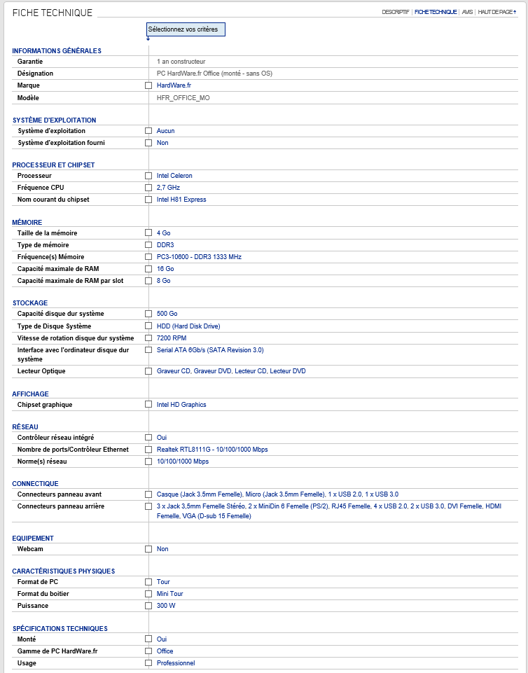 Document technique