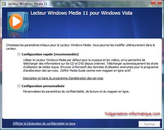 Param trer et utiliser windows media player 11 - Telecharger table de mixage gratuit windows ...
