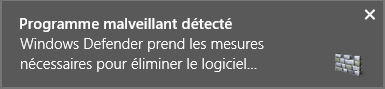 Détection du virus