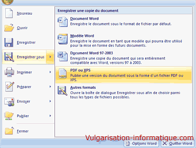 comment convertir un fichier pdf en document word