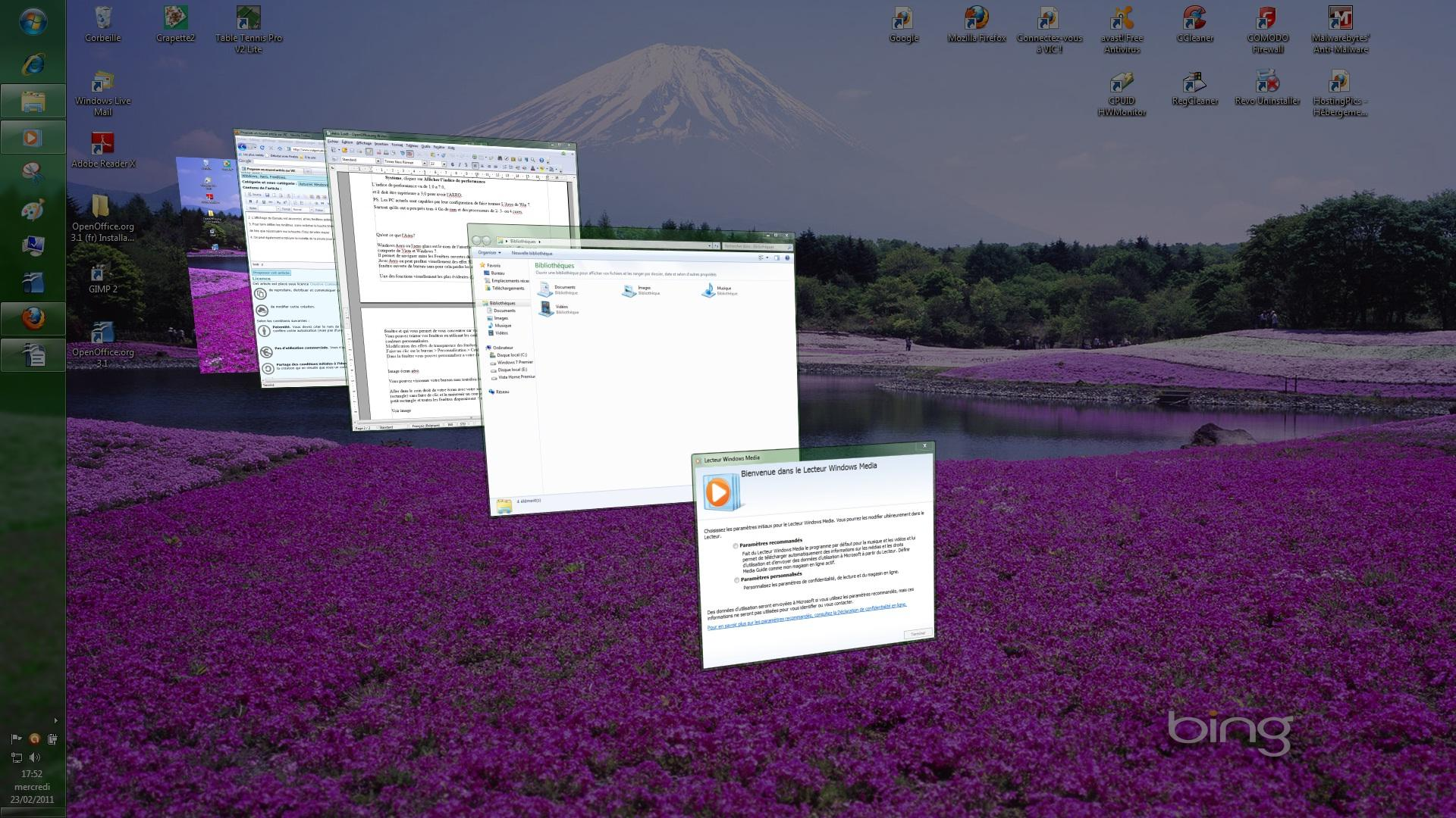 article sur replacement windows 7