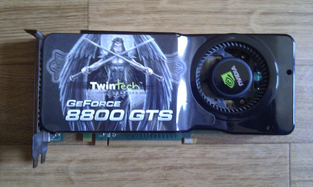 Nvidia GeForce 8800 GTS 512 MO