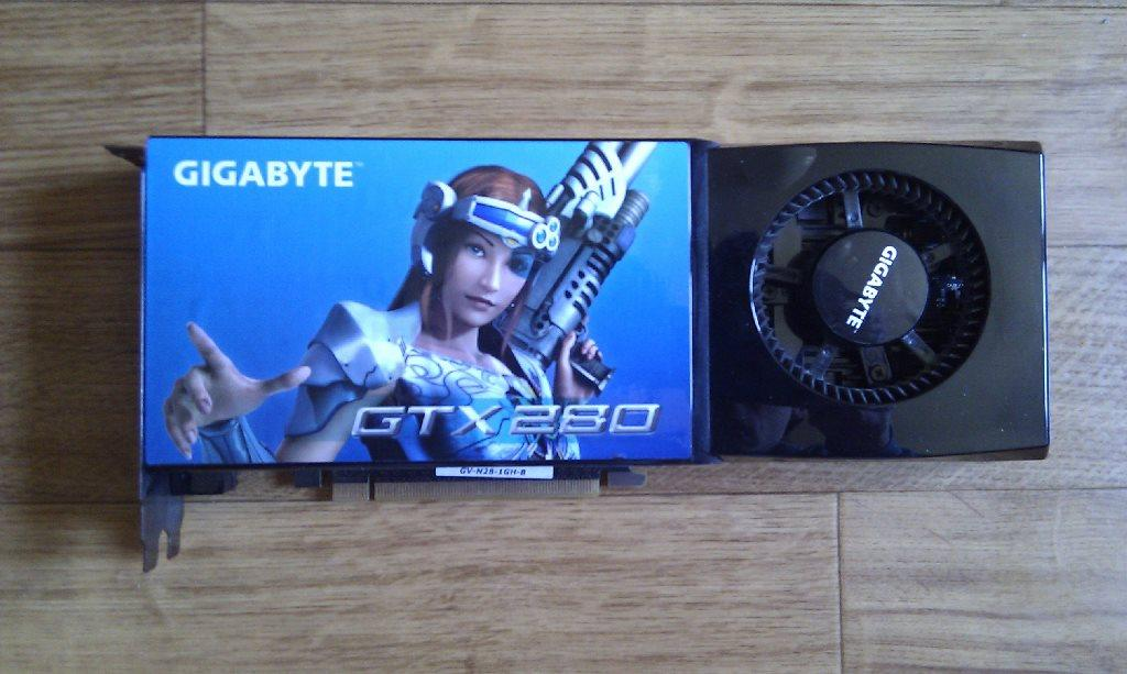 Nvidia GeForce GTX280 (2x)